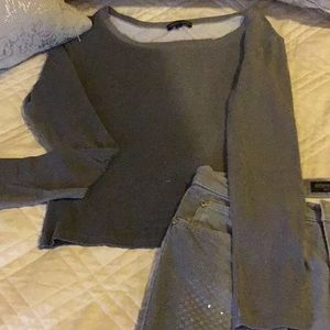 Vintage-Roberto Cavalli Gray with Gold Top